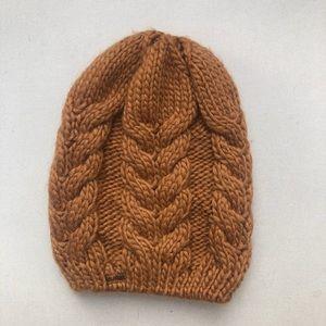 Burton hand knit beanie
